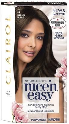 Clairol Nice'n Easy Nice'n Easy Permanent Hair Dye 3 Brown Black (Formerly Shade: 3.5)