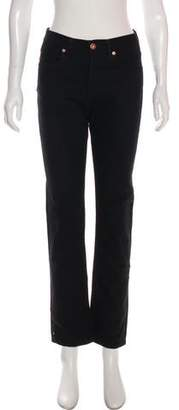 Billy Reid Mid-Rise Straight-Leg Jeans