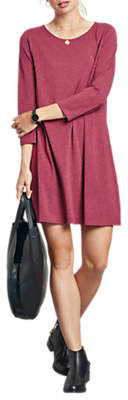 Hush Raven Jersey Dress, Wine Marl