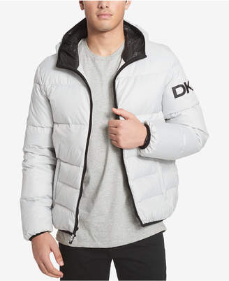 DKNY Men Big & Tall Hooded Puffer Jacket