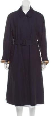Burberry Belt-Accented Trench Coat