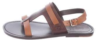 Gucci Boys' Leather T-Strap Sandals