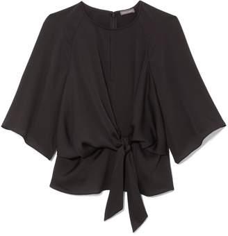 Vince Camuto Tie-waist Kimono-sleeve Top