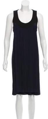 Marni Pleated Silk Dress
