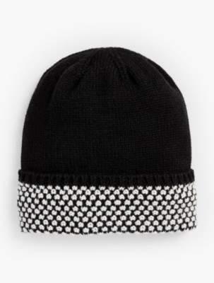 Talbots Textured-Cuff Winter Hat