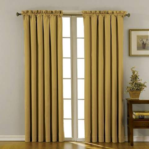 Thermaback Canova Blackout Curtain Panel - Gold (42