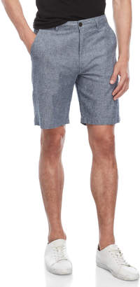 Natural Blue By Visitor Blue Diamond Pattern Shorts