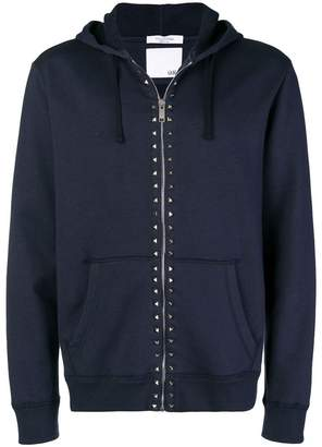 Valentino Rockstud zipped jacket