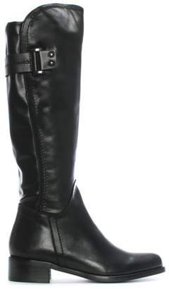 Daniel Loyalty Black Leather Knee High Boots