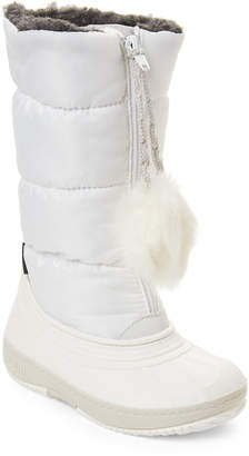 Pajar Canada (Toddler Girls) White Cooper Tall Waterproof Boots