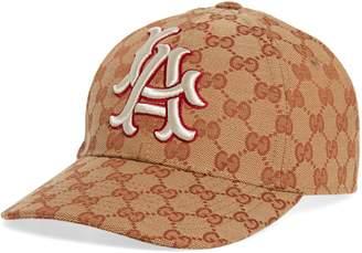 Gucci LA Original GG Canvas Baseball Cap