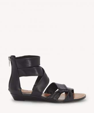 Sole Society Seevina Strappy Low Wedge Sandal