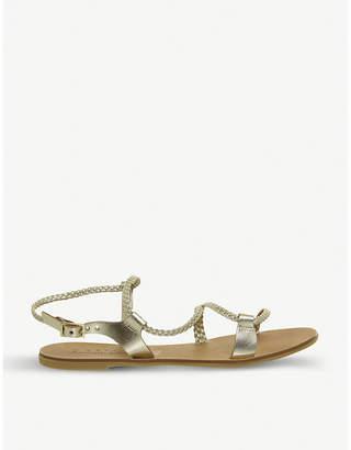 Office Spritz plaited sandals