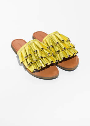 Frill Slippers
