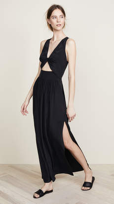 L'Agence Selvano Long Dress