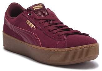 Puma Vikky Platform Suede Sneaker