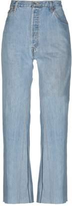 Levi's RE/DONE by Denim pants - Item 42705830MP
