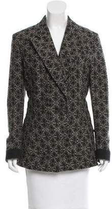 Dries Van Noten Patterned Wool Blazer