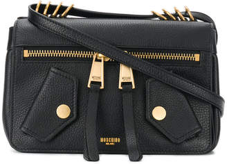 Moschino Biker Jacket crossbody
