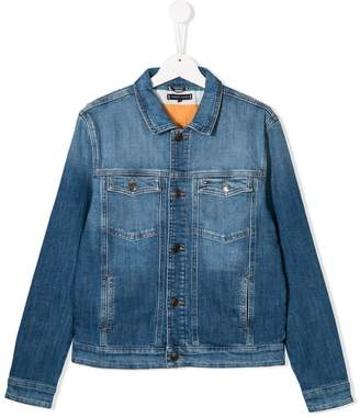 Tommy Hilfiger Junior TEEN buttoned denim jacket