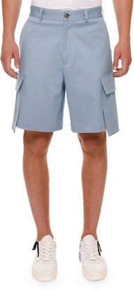 Versace Oversized-Pocket Cargo Shorts