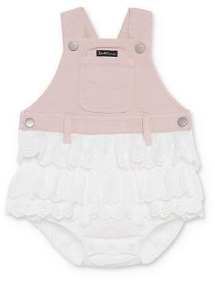 Bardot Junior Girls' Ruffled Overalls Romper - Baby
