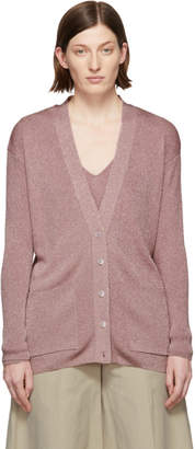 Stella McCartney Pink Lurex Cardigan