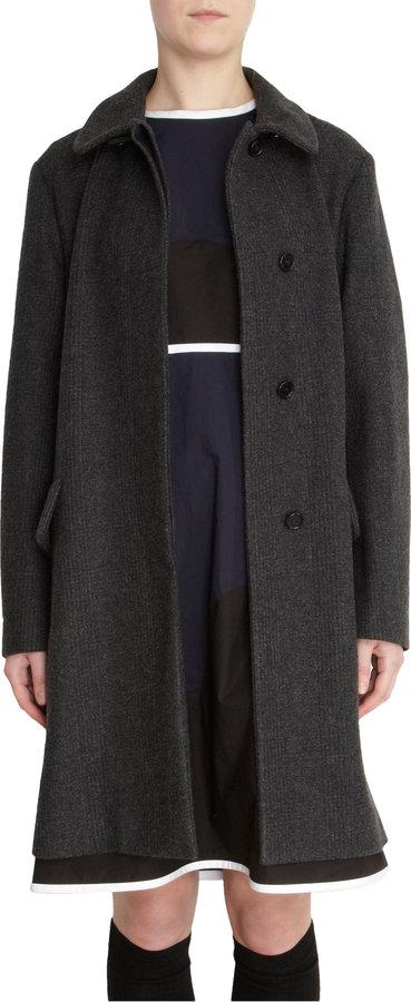 Marni Glen Plaid Coat