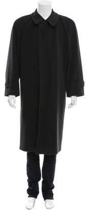 Pal Zileri Wool & Cashmere-Blend Overcoat