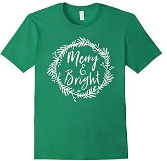 Merry and Bright Christmas Season Holiday Spirit Shirt