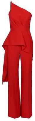 4b464468ce3f Roland Mouret Charlesworth One-Shoulder Jumpsuit