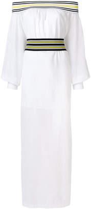 Michel Klein off shoulder maxi dress