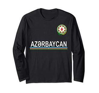 Azerbaijan Flag and Emblem Azerbaijani Long Sleeve Shirt