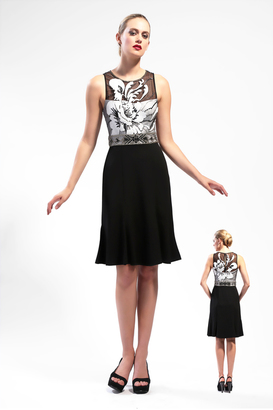 Sue Wong - N5506 Dress In Black $479 thestylecure.com