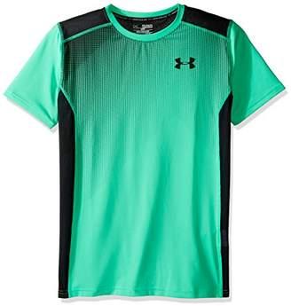 Under Armour (アンダー アーマー) - (アンダーアーマー)UNDER ARMOUR セレクトショートスリーブ(バスケットボール/Tシャツ/BOYS)[1289996] 300 VAPOR GREEN/BLACK/BLACK YSM