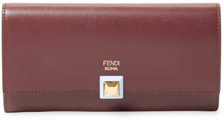 Fendi Leather Continental Wallet