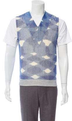 Maison Margiela Abstract Pattern Sweater Vest
