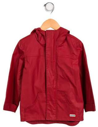 Hunter Boys' Hooded Rain Coat