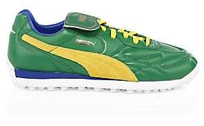 Puma Men's King Avanti Leather& Suede Soccer Runners