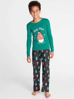Old Navy Holiday-Graphic Sleep Set for Boys