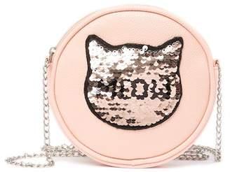 Capelli of New York Sequin Kitty Crossbody Bag