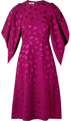 Co Brocade Dress - Magenta