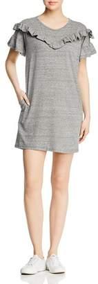 Paige Adalie Ruffled Sweatshirt Dress