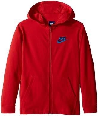 Nike Sportswear Full-Zip Hoodie Boy's Sweatshirt