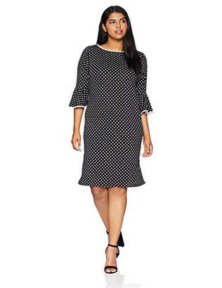 Tiana B Women's Size Plus dot Sheath