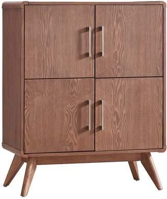 Skagen Homevance HomeVance Walnut Finish Accent Cabinet