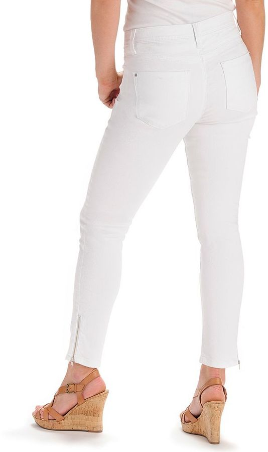 Lee perfect fit skinny ankle jeans