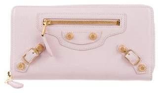 Balenciaga Giant 12 Continental Zip Around Wallet