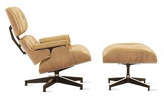 Eames® Lounge and Ottoman - Alaska Leather