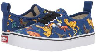 Vans Kids Authentic Elastic Lace Boys Shoes